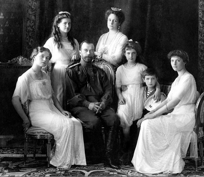 Romanov family